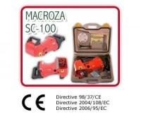 Máy cắt rãnh tường Macroza SC100