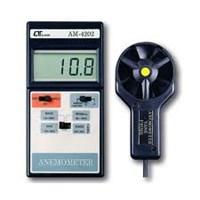 Máy đo tốc độ gió Lutron AM-4202 (30 m/s & 60 ℃)