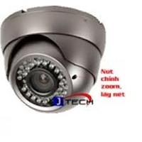 Camera J-TECH JT-D810HD ( 700TVL, OSD, DWDR )