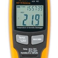 Máy đo độ ẩm và nhiệt độ FHT 70 DATALOGGER