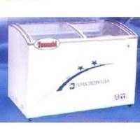 Tủ đông lạnh kính cong Towashi WD/WG300Y