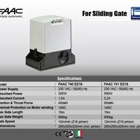 Cổng trượt tự động FAAC -740 EZ16
