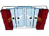 Cửa tượt xếp SINIL - TELESCOPIC DOOR
