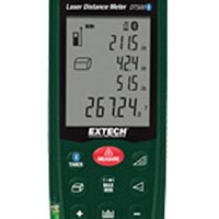 Máy đo khoảng cách bằng laser với Bluetooth Extech DT500