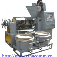 Máy ép dầu công nghiệp có bình lọc 6YL-120A