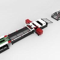 Dây chuyền sản xuất ống gió AUTO LINE IV