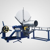 Máy sản xuất ống gió tròn xoắn