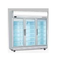 Tủ mát 3 cánh kiếng Display chiller juscool BERJAYA 3D/DC-S-E