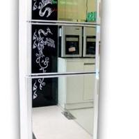 Tủ sấy bát Komasu kính hoa/gương ZTP388 -10