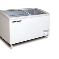 Tủ kem kính cong 350 lít Berjaya BJY-CFGD350
