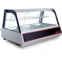 Tủ mát kính cong mini đặt bàn Berjaya DC211