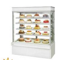 Tủ bánh kem dạng đứng 5 tầng LG-180 (đá trắng)