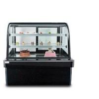 Tủ trưng bày bánh kem HX-180 (kính cong 3 tầng)