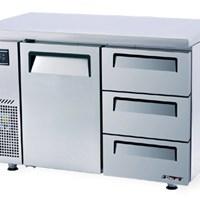 Bàn đông 1 cửa 3 ngăn kéo TURBO AIR KUF12-3D-3
