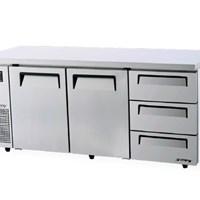Bàn mát 2 cửa 3 ngăn kéo TURBO AIR KUR18-3D-3