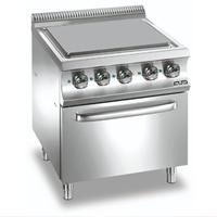 Bếp nấu phẳng dùng điện có lò nướng điện dưới, ETF77