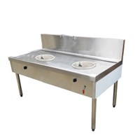 Bếp xào đôi công nghiệp SALECO