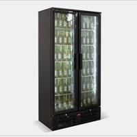 Tủ lạnh quầy bar mini 2 cánh kính OKASU SC-293F