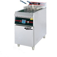 Bếp chiên 1 hộc 2 giỏ nhúng dùng điện OKASU AP-26