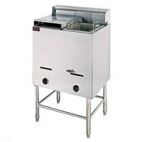 Bếp chiên 2 hộc 2 giỏ OKASU EF-75 (Gas)