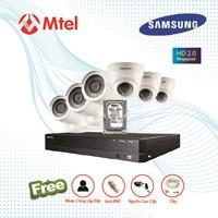 Trọn bộ Camera Samsung 3 mắt Full HD 2.0M HRD-E430LP