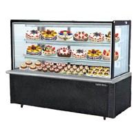 Tủ trưng bày bánh lạnh kính vuông đen BERJAYA  RCS 5SB