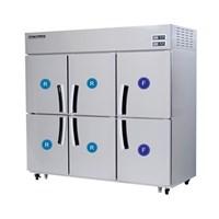 Tủ đông mát 6 cánh 2 ngăn đông Modelux MDS-1660RF1