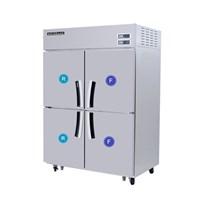 Tủ đông mát 4 cánh 2 ngăn đông Modelux MDS-1040HRF1