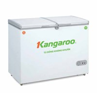 Tủ đông kháng khuẩn 2 ngăn 2 cánh Kangaroo KG 418C2