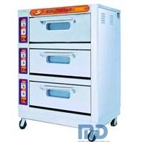 Lò nướng bánh 3 tầng 6 khay YXD-60A GAS