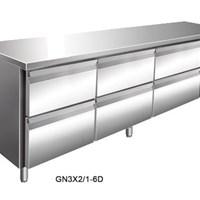 Bàn mát 6 ngăn GN3X2/1-6D