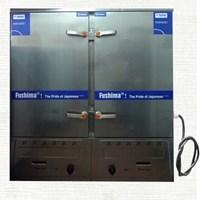 Tủ cơm 24 khay gas điện Inox TC240