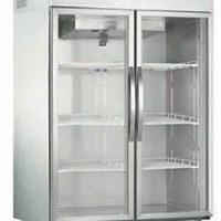 Tủ lạnh 2 cửa kính có quạt mát luxury R300-1