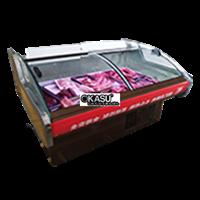 Tủ bảo quản thịt tươi cửa cong OKASU OKS-SC-2.0