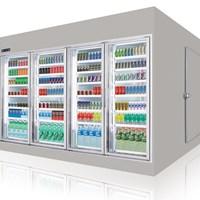 Tủ mát trưng bày siêu thị Southwind  W6D1-4DS