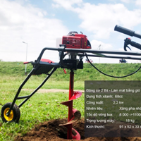 Máy khoan đất trồng cây Okasu 2019