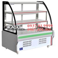 Tủ trưng bày và bảo quản thực phẩm Okasu OKS-KX-1.5WZCT