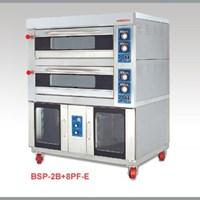 LÒ NƯỚNG ĐIỆN 2 TẦNG 8 KHAY Ủ BỘT BSP-2B+8PF-E