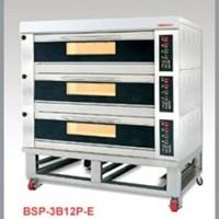 LÒ NƯỚNG ĐIỆN 3 TẦNG BSP-3B12P-E (12 KHAY)