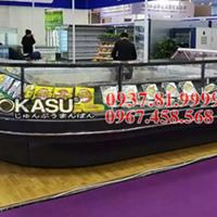 Tủ trưng bày siêu thị OKASU OKS-09ES-A-2.0M