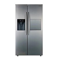Tủ lạnh Hafele 2 cửa, có lấy đá ngoài 534.14.250 HF-SBSIC