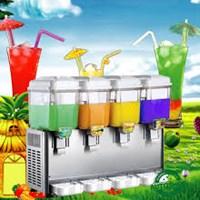 Máy làm lạnh nước hoa quả 4 ngăn