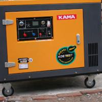 Máy phát điện chạy dầu cách âm KAMA KDE 7800T