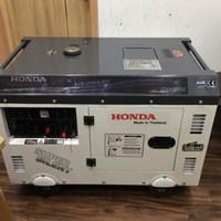 Máy phát điện chạy dầu thùng cách âm Honda DG11000SE