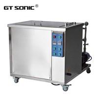 Bể rửa siêu âm 2 tần số với bộ điều khiển PLC GT SONIC SD Serial