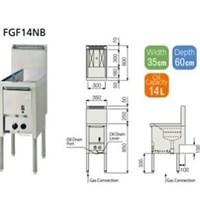 Bếp chiên FUJIMARK FGF14NB