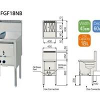 Bếp chiên FUJIMARK FGF18NB