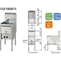 Bếp chiên FUJIMARK FGF18NB75