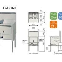 Bếp chiên FUJIMARK FGF21NB