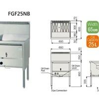 Bếp chiên FUJIMARK FGF25NB